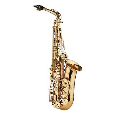 AU317.89 • Buy Saxophone Sax Eb Be Alto E Flat With Gloves Cleaning Cloth Brush Straps Golden