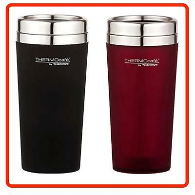 AU19.45 • Buy ❤ THERMOS THERMOCAFE 420ml TRAVEL TUMBLER Coffee Tea Cup Car Camping RED BLACK ❤