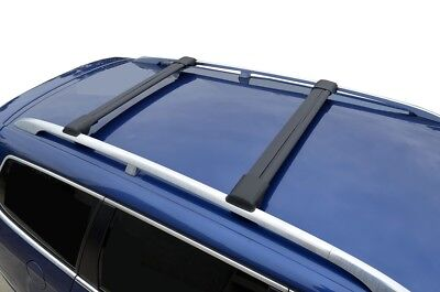 AU199.95 • Buy Alloy Roof Rack Slim Cross Bar For Holden Colorado Z71 15-20 Lockable Black