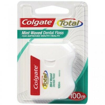 AU10.60 • Buy Colgate Dental Floss Total 100M For Improved Mouth Health