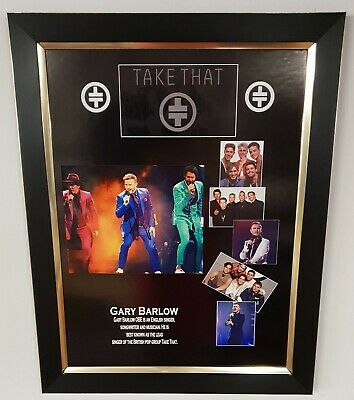 Gary Barlow TAKE THAT Signed Photo Autographed Picture Display AFTAL DEALER COA • 175£