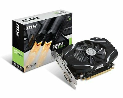 $ CDN317.21 • Buy MSI GeForce GTX 1050 Ti OC 4GB GDDR5 PCI-E Video GPU Card DisplayPort HDMI DVI