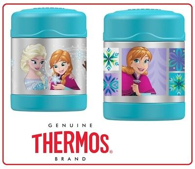 AU25.90 • Buy Thermos 290ml FUNtainer Insulated Stainless Steel Vacuum Food Jar -Disney Frozen