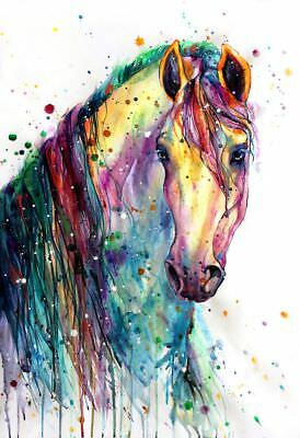 £5.99 • Buy Horse Print Fashion Poster Home Interior Wall Picture Decoration A4