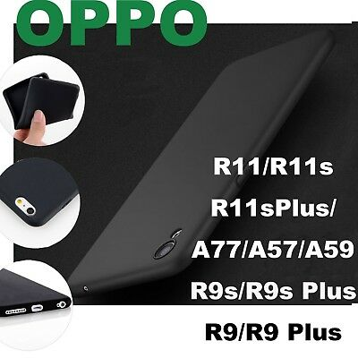 AU5.99 • Buy Ultra Thin OPPO R17 15 11s 9 Plus F1s AX7 5 3s 57 77 73 Matte TPU Gel Cover Case