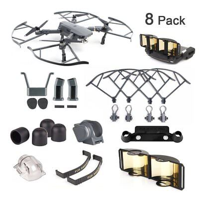 AU58.13 • Buy DJI Mavic Pro / Platinum Accessories 8 Pack Combo: Camera , Propeller Guard +