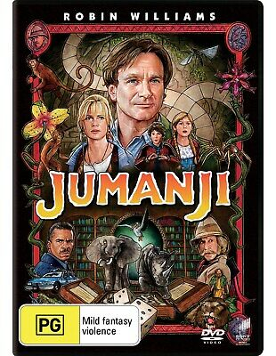 AU10.75 • Buy Jumanji DVD Region 4 NEW
