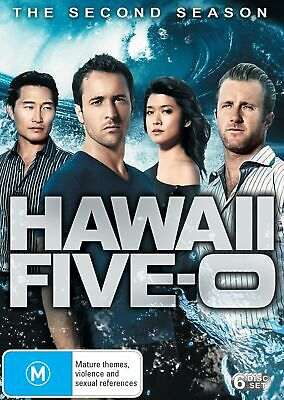 AU23.92 • Buy Hawaii Five 0 The Second Season DVD Region 4 NEW