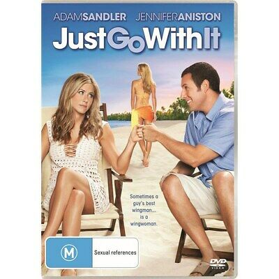 AU11.09 • Buy Just Go With It DVD Region 4 NEW