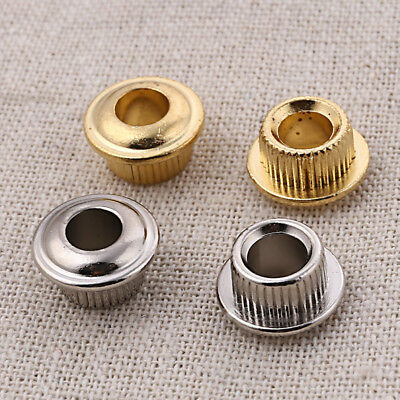 $ CDN4.92 • Buy Gold Silver Metal Guitar Tuning Key Conversion Bushings Adapter Ferrules 6pcs