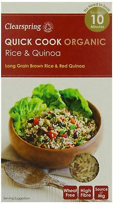AU10.30 • Buy Clearspring Quick Cook Organic Rice & Quinoa 250g