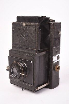 View Details Medium Format Camera Reflex 754 By Ica With Tessar F/4.5 - 120mm Lens. 6x9 • 319.15£