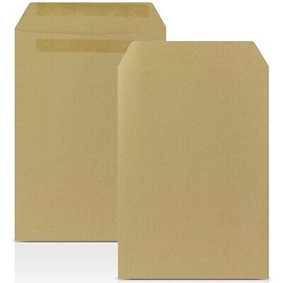 £0.99 • Buy Brown Envelopes C4 C5 A4 A5 Mailing Manilla Plain (no Window) Self Seal Office