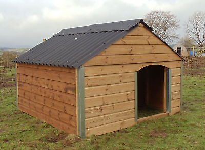 6ft X 6ft Pig Pigmy Goat Sheep Geese Livestock Ark Animal Stable Shelter Shed • 345£