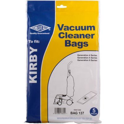 Kirby Compatible Vacuum Cleaner Hoover Bags. Fits All Generation G4 G5 G6 Models • 4.99£