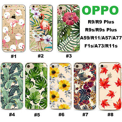 AU6.99 • Buy For OPPO AX7 5 3s FindX R17 15 11 9s F1S A57 73 77 Flower Pattern TPU Phone Case
