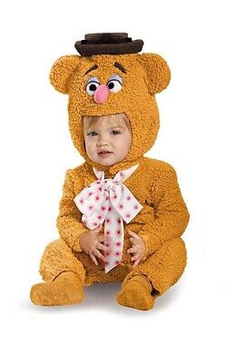Licensed Fozzie Bear The Muppets Toddler Boys Fancy Dress Halloween Costume • 28.28£