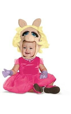 Licensed Miss Piggy The Muppets Toddler Girls Fancy Dress Halloween Costume • 26.01£