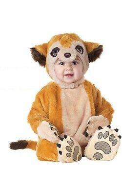 Licensed Meerkat Infant Animal Planet Fancy Dress Halloween Book Week Costume • 24.74£