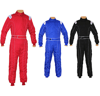 £39.99 • Buy Adult Karting/Kart/Race/Rally Suits Adult Poly Cotton One Piece Karting Suit