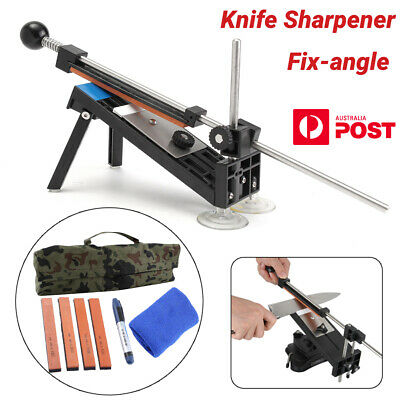 AU24.98 • Buy Professional Knife Sharpener Sharpening System Kitchen Fix-angle With 4 Stone AU