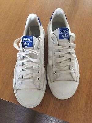 Adidas Tennis/Adria Vintage Trainers Uk5 Made In Taiwan 70s/80s • 35£