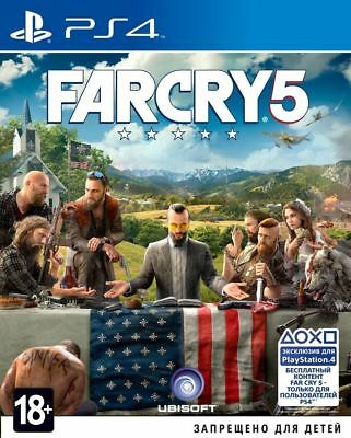 AU54.20 • Buy *NEW* Far Cry 5 (PS4, 2018) Russian, English Version
