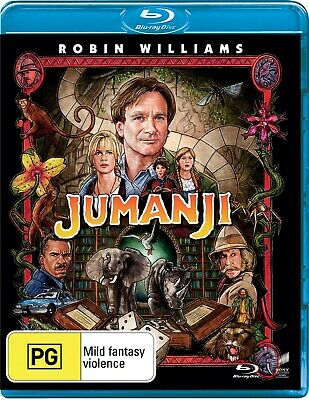 AU11.97 • Buy Jumanji Blu-ray Region B NEW