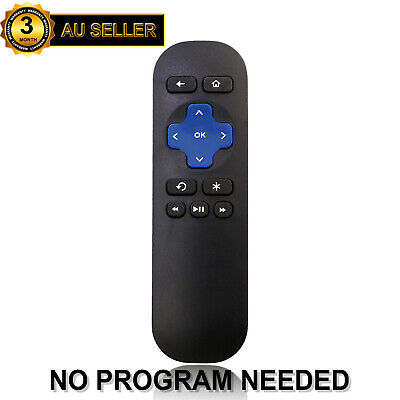 AU9.98 • Buy Replacement Remote Control For ROKU 4 3 2 1 Streaming Player Telstra TV 1 & 2