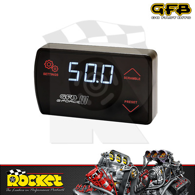 AU380.16 • Buy GFB G-Force III Electronic Boost Controller W/ AFR - GFB3005