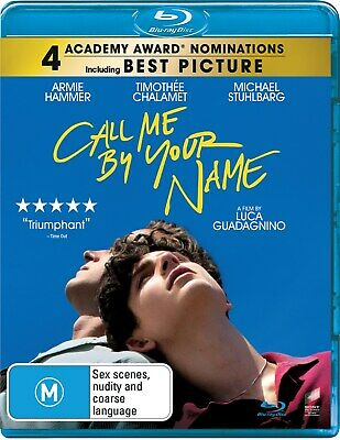 AU16.96 • Buy Call Me By Your Name Blu-ray Region B NEW