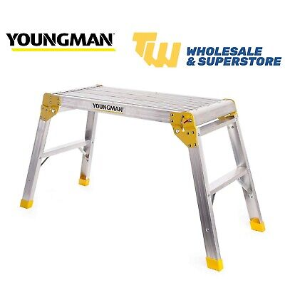 Youngman Odd Job Folding Platforms Bench Hop Step Ups Decorators Plasterers DIY • 39.35£