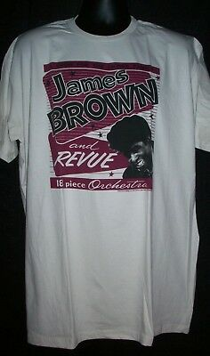 $14.99 • Buy James Brown  The Godfather Of Soul  Adult  2XL Unisex T-Shirt - NOS
