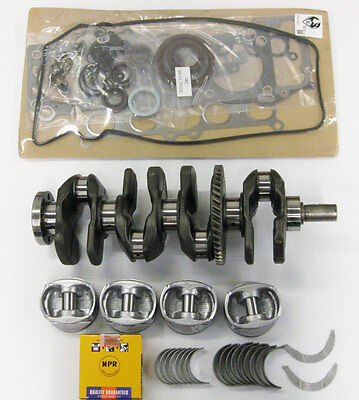 AU661.03 • Buy Toyota 5SFE 2.2 Crankshaft With Rebuilt Engine Kit With 4 Connecting Rods