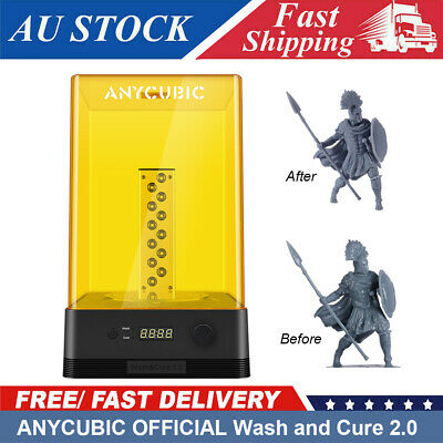 AU187 • Buy ANYCUBIC Wash And Cure 2.0 Washing & Curing For LCD Resin 3D Printer Photon Mars