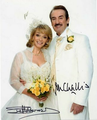 £29.99 • Buy Only Fools And Horses Boycie And Marlene In Wedding Hand Signed 10×8 Photo