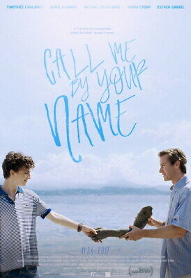 AU9.99 • Buy 010 Call Me By Your Name - Romance 2017 USA Movie 24 X35  Poster