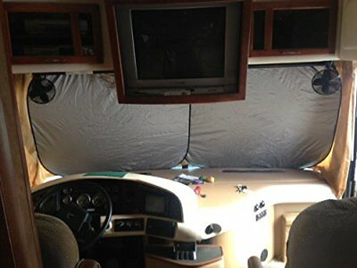 $59.99 • Buy RV Motor Home, Class A, Motor Coach, Sun Shade, Window Shade, 2 Pc, Extra Jumbo!