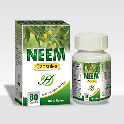 $15 • Buy Neem Capsules 60 Capsules Bottle Dietary Suppelment Natural Blood Purifier