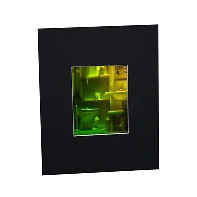 £72.07 • Buy 3D Bathroom Hologram Picture (MATTED), Collectible REFLECTION SILVER-HALIDE Film