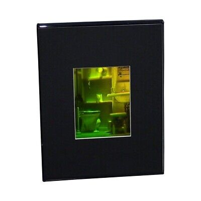 £82.88 • Buy 3D Bathroom Hologram Picture (MATTED DESK STAND), Collectible SILVER-HALIDE Film