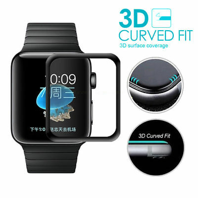 $ CDN3.53 • Buy 3D 9H Tempered Glass Screen Protector For Iwatch Apple Watch Series 1/2/3/4/5