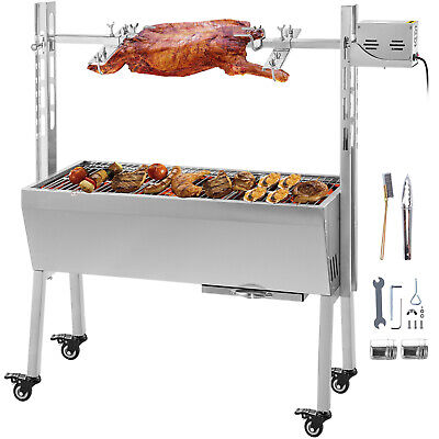 $249.93 • Buy Spit Roaster Rotisserie Pig Lamb Roast BBQ Portable Picnic Outdoor Cooker Grill