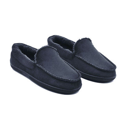 AU16 • Buy Dearhome Men House Shoes Indoor Slippers Comfy Furpa Home Moccasin