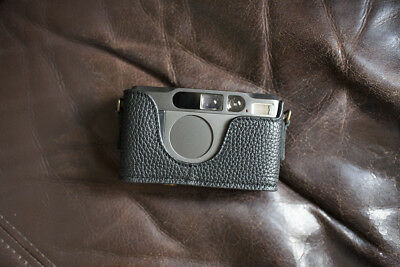 $ CDN72.86 • Buy Handmade Genuine Real Leather Half Camera Case Bag Cover For Contax T2 Black