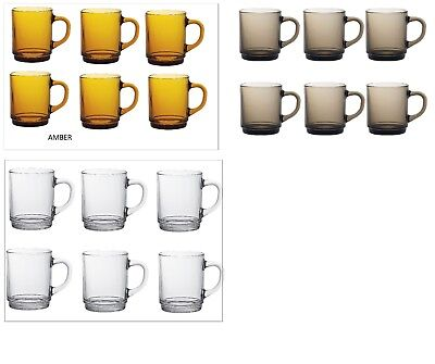 £9.29 • Buy Duralex Versailles Mugs 26 Cl ,ideal For Hot Beverages (Tea,Coffee Coco) Pack  6
