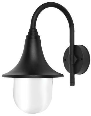 Wall-Mounted Outdoor Garden Lamp IP44 Hanging Lantern E27 Light Black • 15.92£