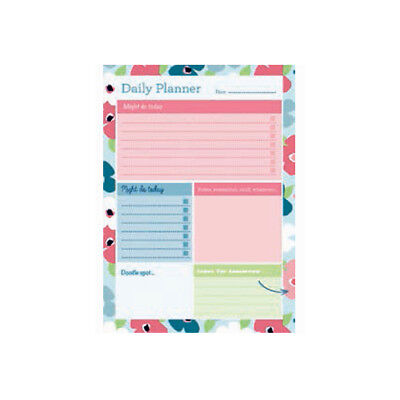 £4.99 • Buy A5 Collins Blossom Daily Desk Pad Planner Contains 60 Sheets Daily View