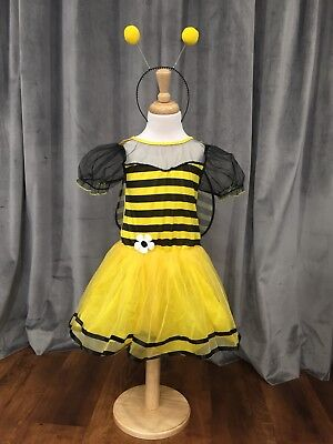 £7.99 • Buy Girls Bumble Bee Costume Insect Animal Kids Fancy Dress Outfit Ages 3-5years