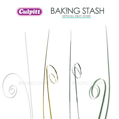 Culpitt Onion Leaf Bear Grass - Floral Wedding Cake Display Toppers - 50 Pack • 3.84£